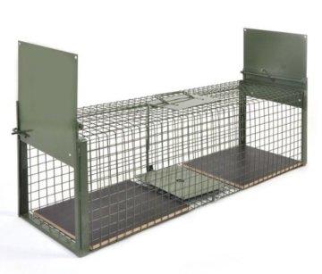 KrapTrap® Tierfalle Katzenfalle Lebendfalle Marderfalle -