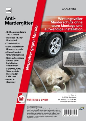 IWH Vertrieb 078409 Anti-Mardergitter 190 x 150 cm - 1